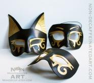 Egyptian Half masks