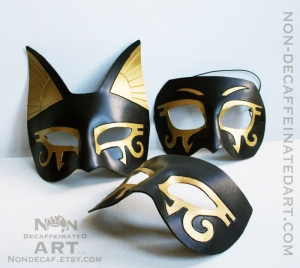 New Bastet style and  New Half Masks - standard colors