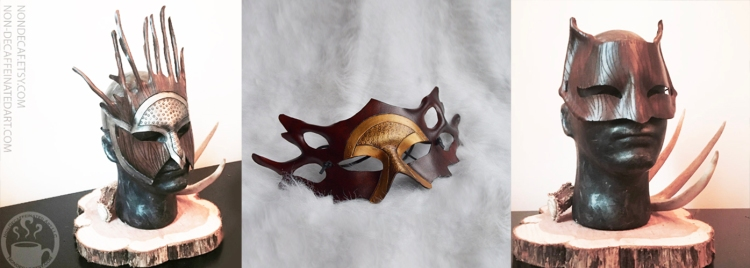 Druid masks by nondecaf
