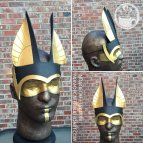 photo showing an anubis inspired headdress