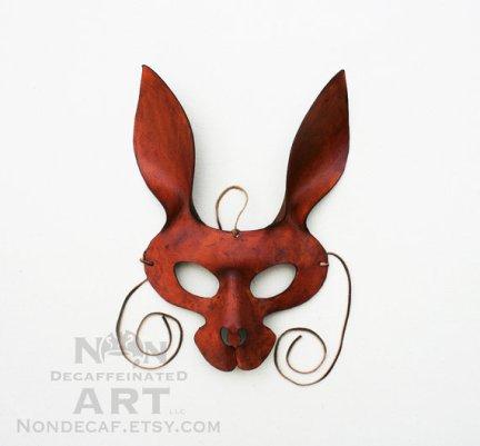 Tawny Rabbit Mask