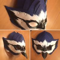 Large Bluejay mask