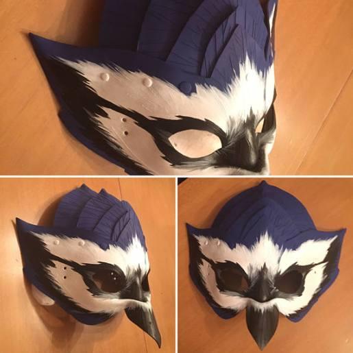 Large Bluejay mask