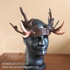 Photo of a headdress with faux antlers