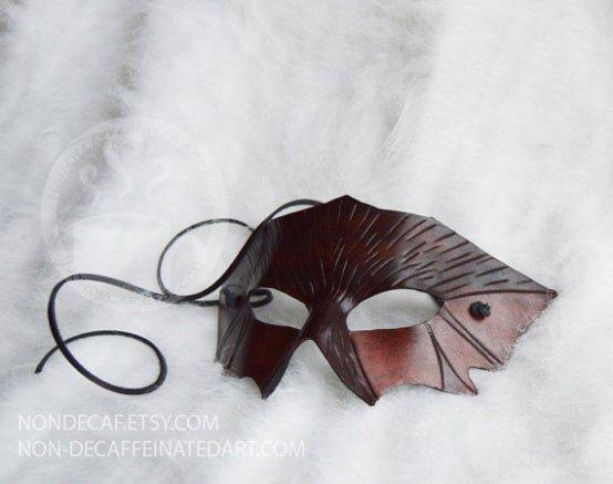 Bat Leather Mask