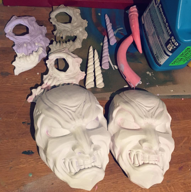 resin mask process 03_nondecaffeinatedart