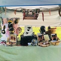 Vine Street Makers Market outdoor tent set up