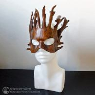 Leather branch mask by nondecaf